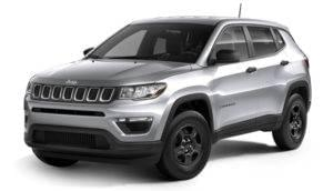 Silver 2017 Jeep Compass Colorado Springs CO.