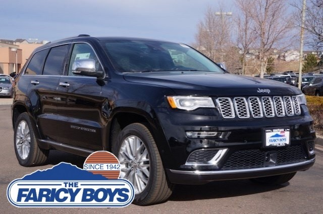 2017 Jeep Grand Cherokee Summit Lease Special