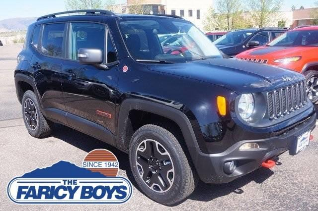 2017 Jeep Renegade Trailhawk Lease Special