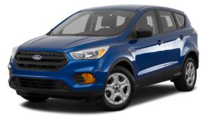 Blue 2017 Ford Escape