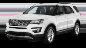 White 2017 Ford Explorer
