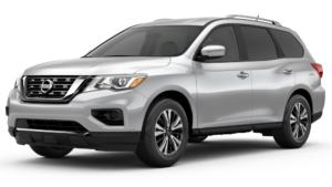 2017 Nissan Pathfinder in silver