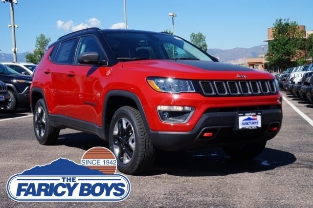 2017 NEW Jeep Compass Trailhawk Lease Special