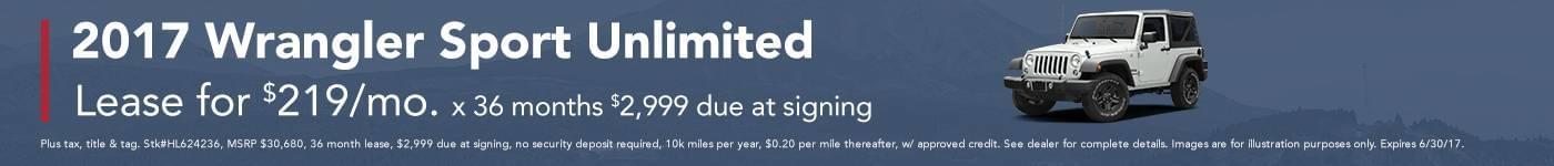 Wrangler Sport Unlimited