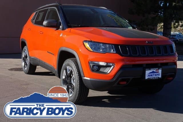 2018 NEW Jeep Compass Trailhawk Lease Special
