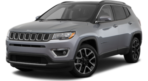 Grey 2018 Jeep Compass in Colorado Springs CO.