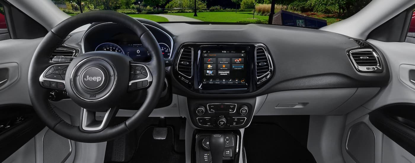 2018 Jeep Compass interior design in Colorado Springs CO.