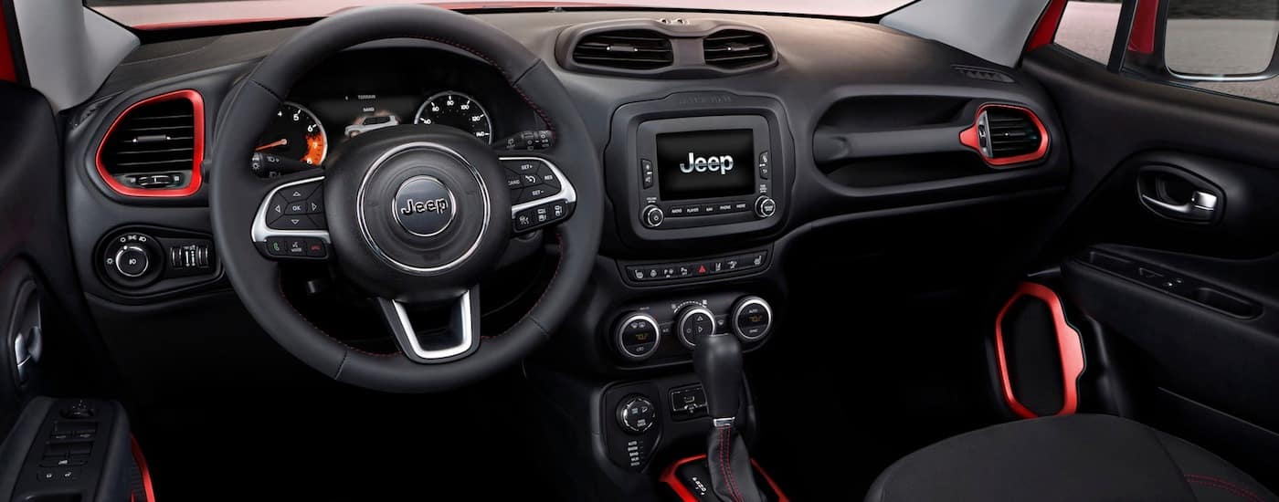 New Jeep Renegade Features