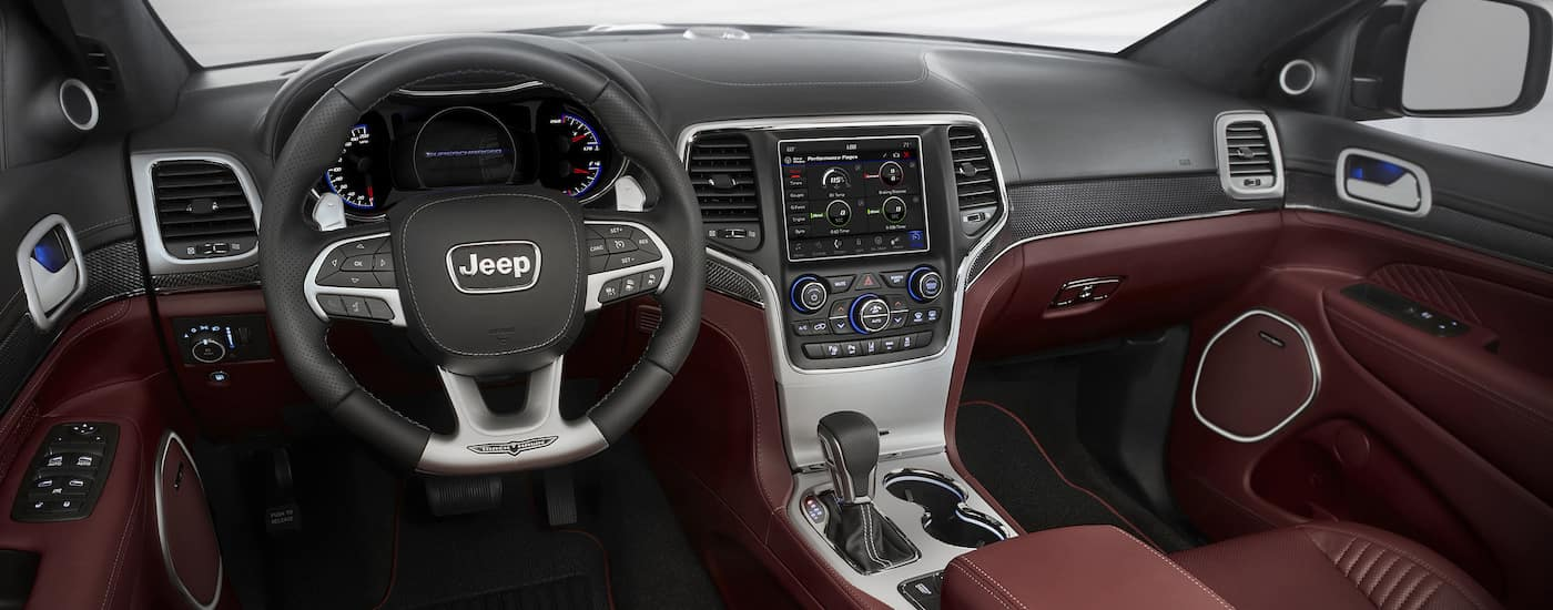 New Jeep Grand Cherokee Features