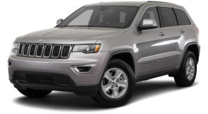 Grey 2018 Jeep Grand Cherokee in Colorado Springs CO.