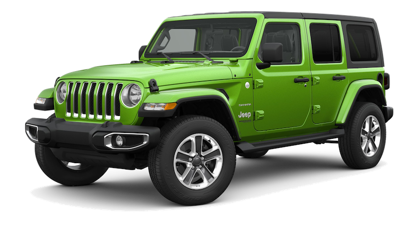 Green 2019 Jeep Wrangler near Colorado Springs