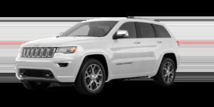 Pearl white 2019 Jeep Grand Cherokee