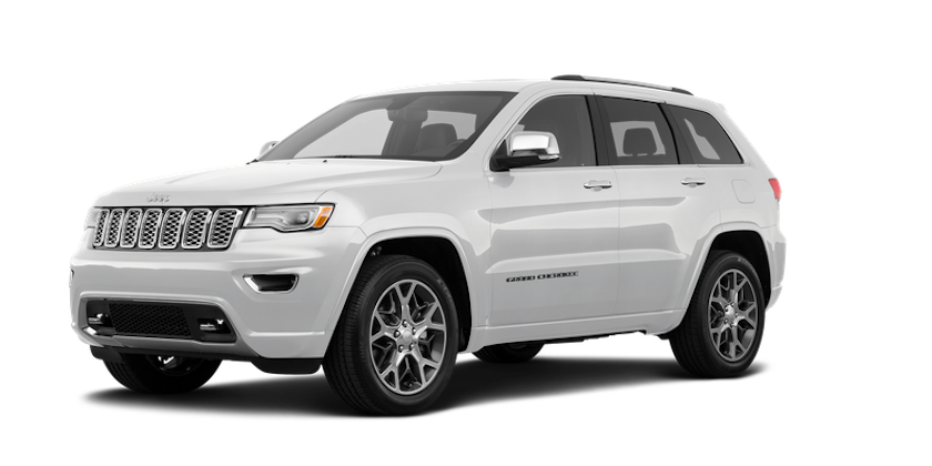 Pearl white 2019 Jeep Grand Cherokee in Colorado Springs, CO