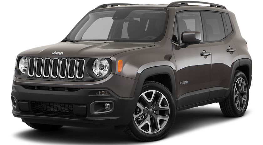 Colorado Springs - A dark gray 2019 Jeep Renegade from Faricy Boys