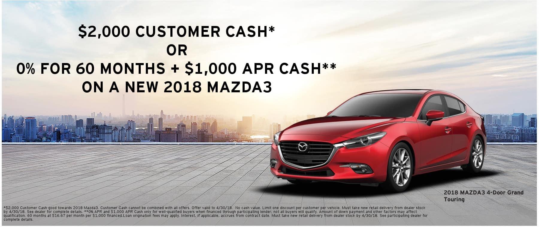 Mazda3 TX CC APR Cash 1800x760