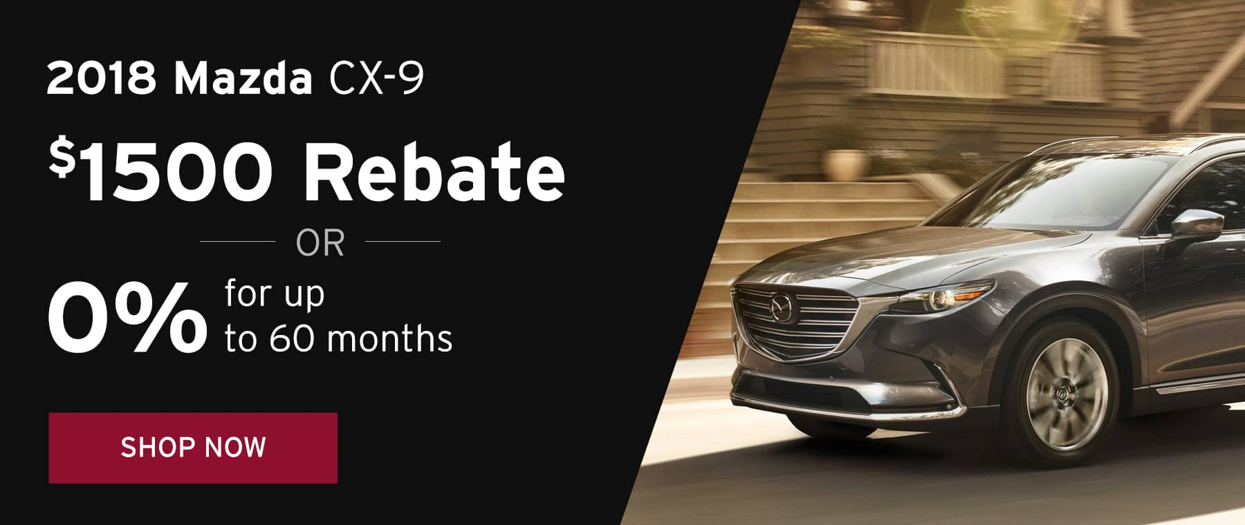 June 2018 CX9 Offer