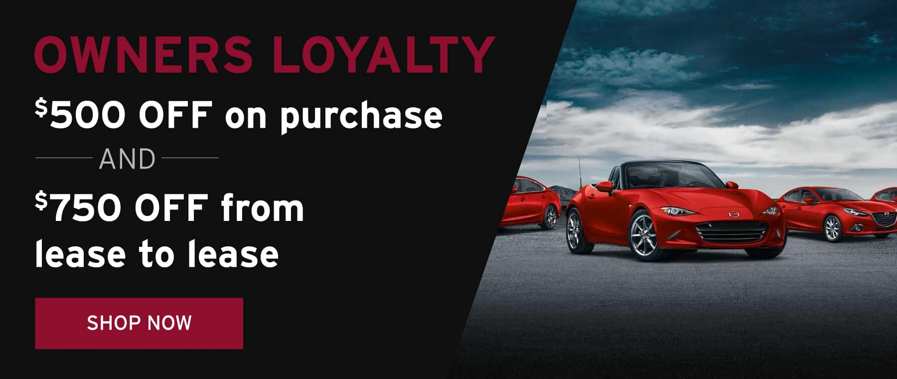 June 2018 Owners Loyalty Offer