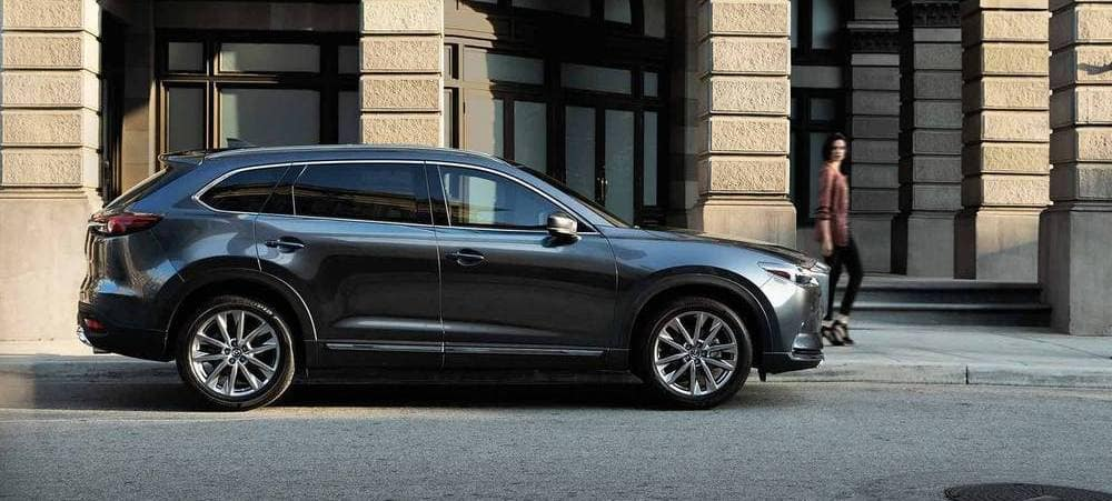 2019 Mazda CX-9 Parked on street