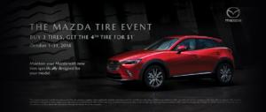 Mazda Tire Event - Resized Slider