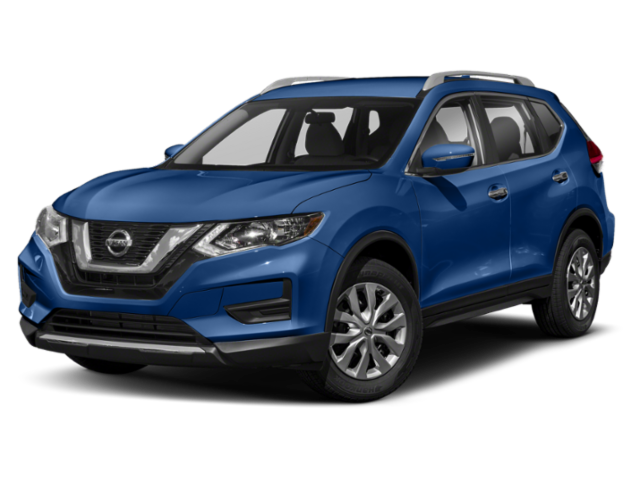2019 rogue side view