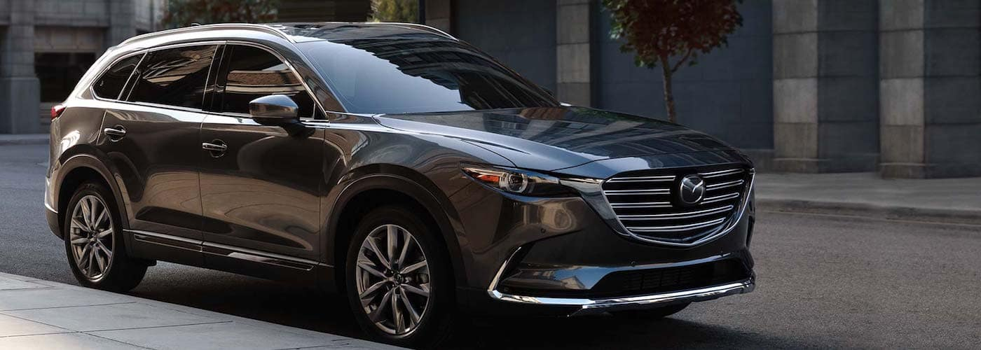2019 cx-9 parked on street