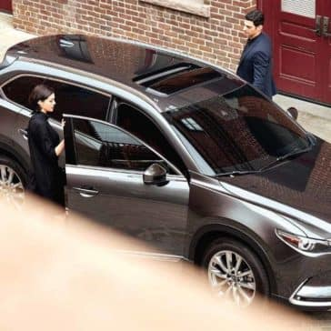 2019 Mazda CX-9 Parked in the city