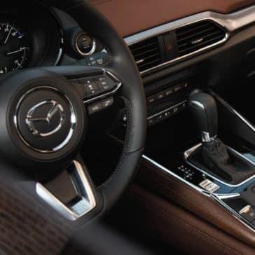 2019 Mazda CX-9 dash and center console