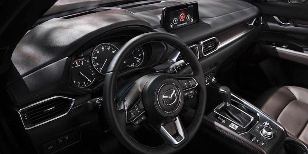 2019 cx-5 front interior and dashboard