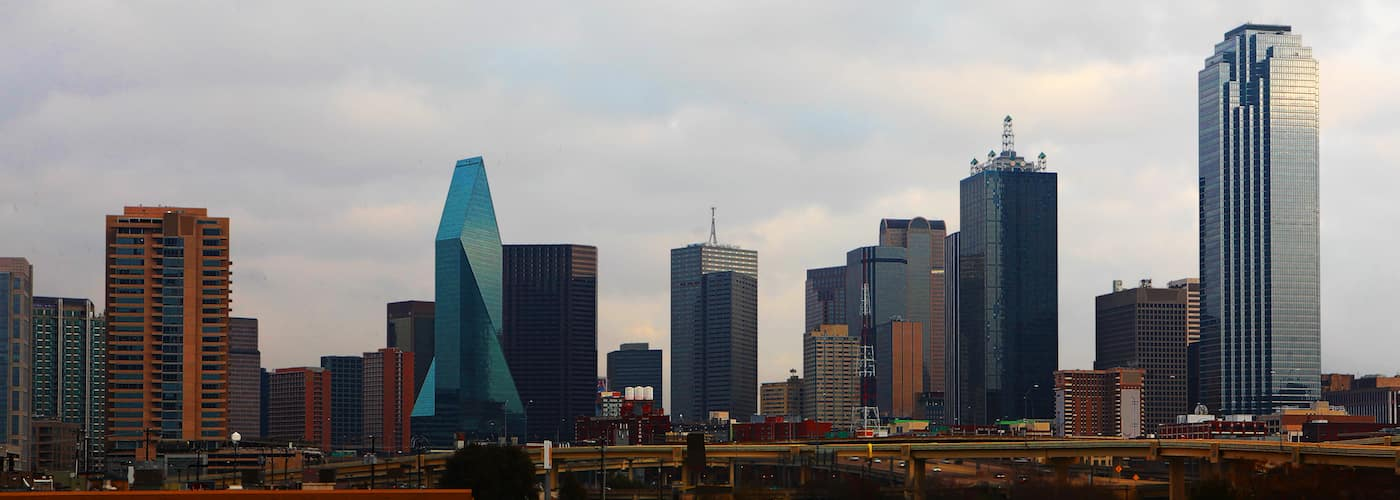 Dallas Skyline at Daytime