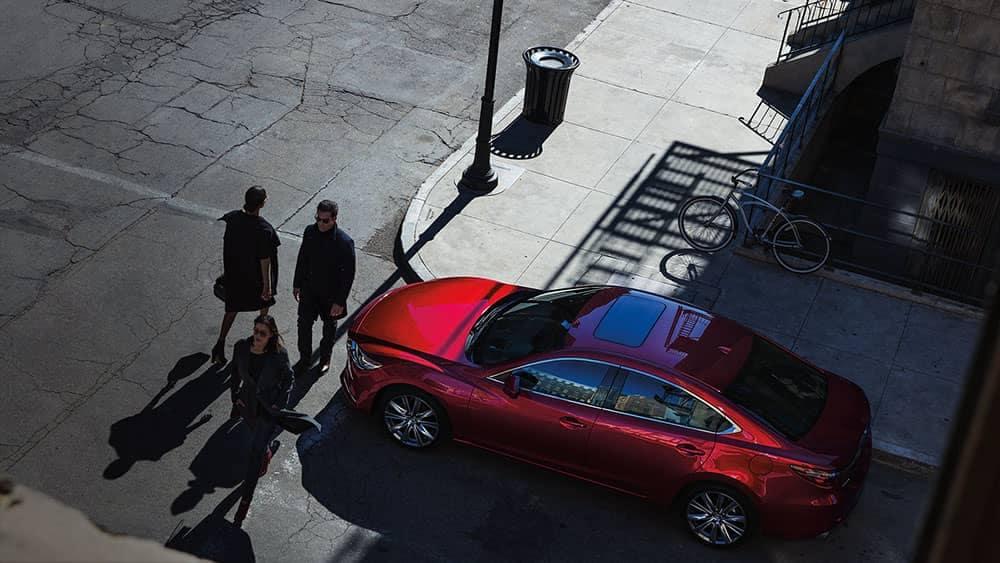 2019 Mazda6 top