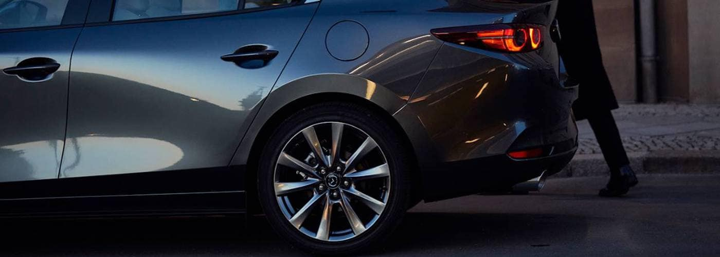 2020 Mazda3 Sedan Back Tire