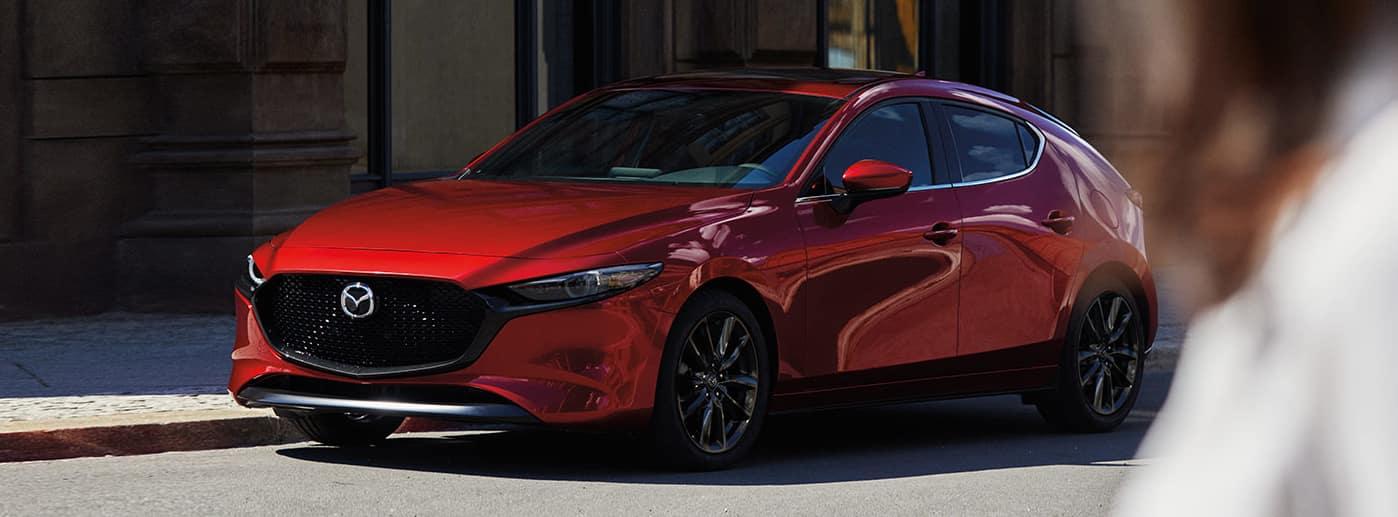 2020 MAZDA3 Hatchback, Red Exterior