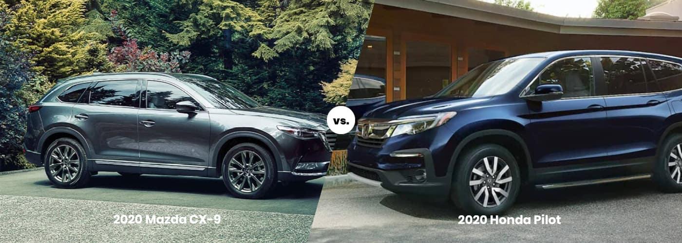 2020 Mazda CX-9 vs. 2020 Honda Pilot