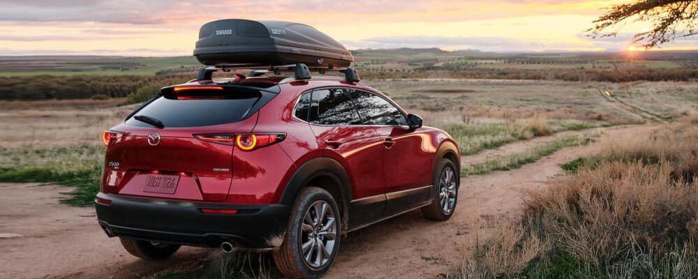 2021 Mazda CX-30 on a dirt road