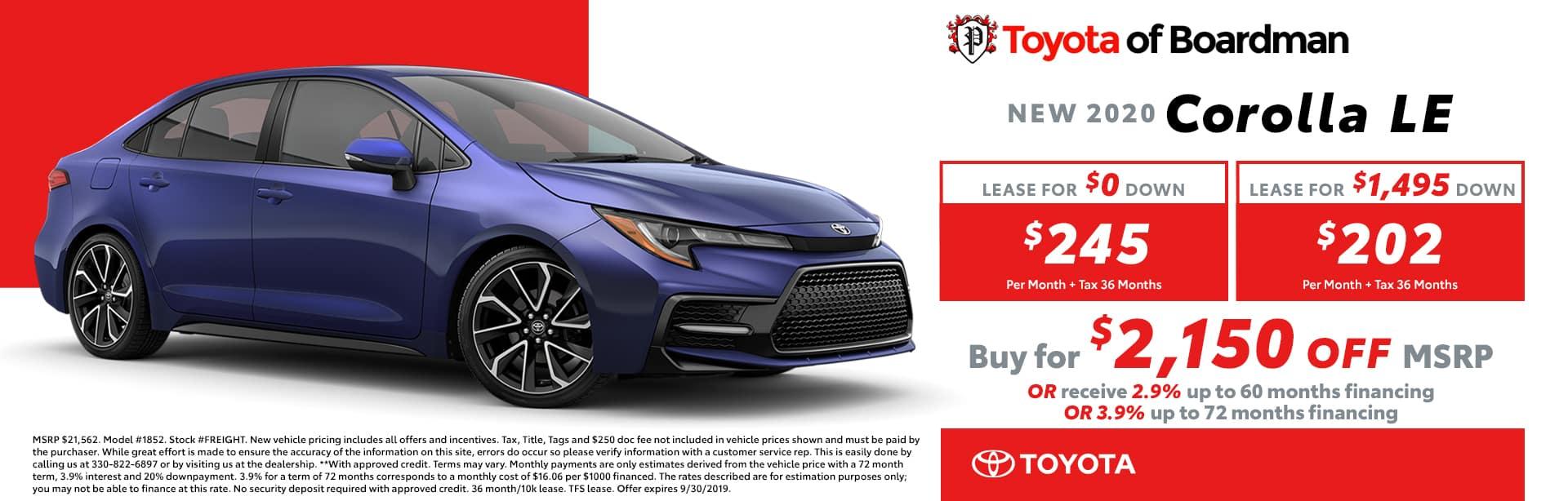 Toyota Dealers Pa >> Toyota Of Boardman New Used Cars In Boardman Oh