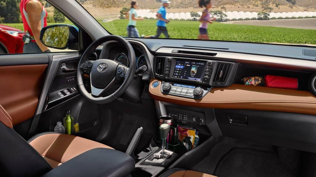Toyota RAV4 Hybrid Spacious and Well-Furnished Cabin