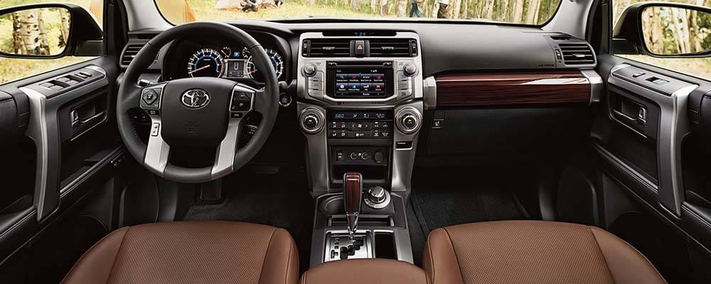 Toyota Four Runner 2018 >> 2017 Toyota 4Runner Interior Features and Accommodations