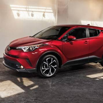 2018 Toyota C-HR Ruby Flare Met