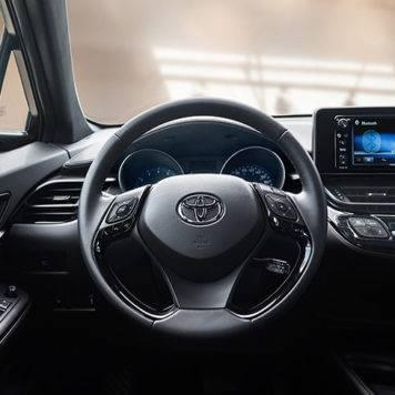 2018 Toyota C-HR XLE Premium Black Interior