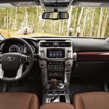 2017 Toyota 4 Runner Interior