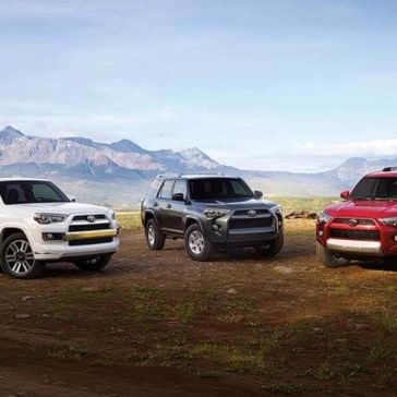 2017 Toyota 4Runer Lineup