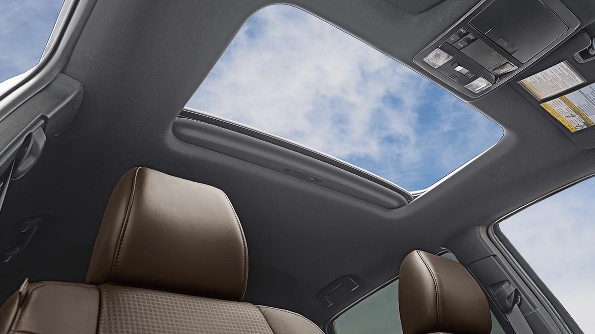 2017 Toyota Tacoma Limited Double Cab Interior Moonroof