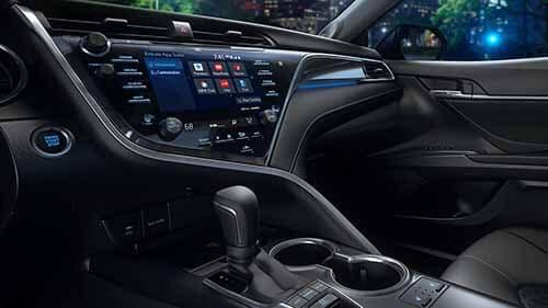 2018 Toyota Camry Entune App Suite