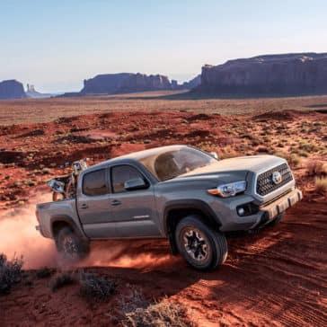 2018 Toyota Tacoma Off Roading