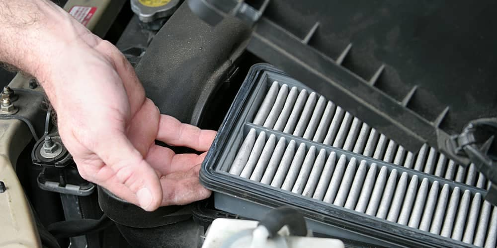 Hand Lifting Air Filter