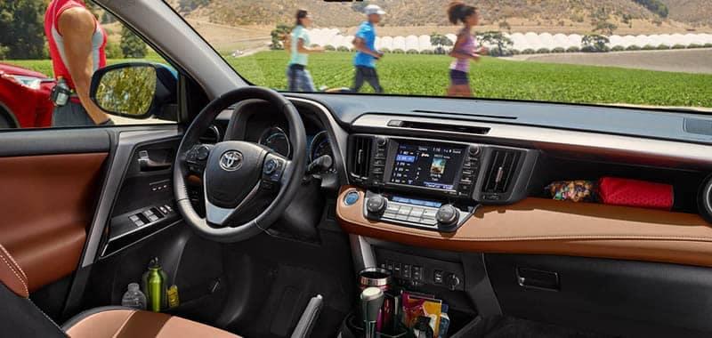 2018 Toyota RAV4 Dashoard with Entune Audio