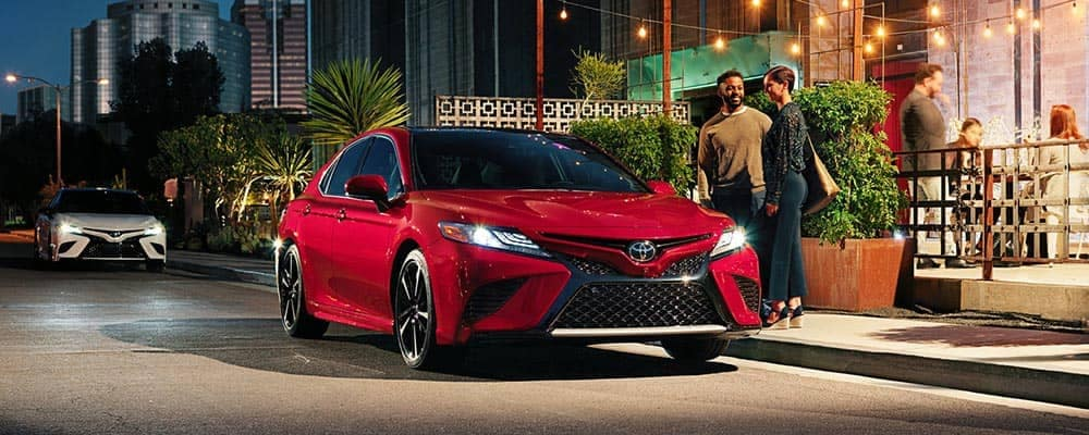 2019 Toyota Camry Parked On Side of Road