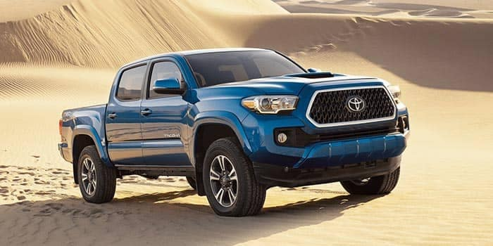 2019 Toyota Tacoma Driving on Sand Dunes