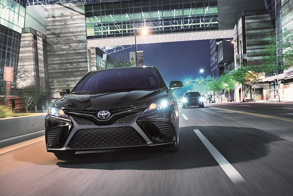 Black Toyota Camry