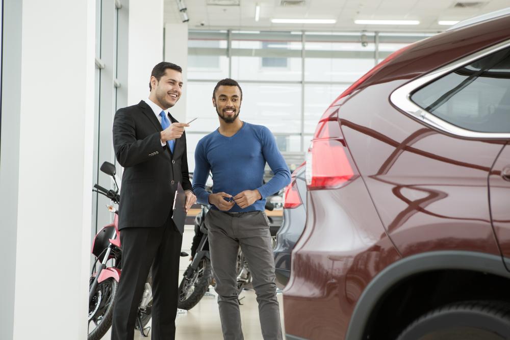 Browsing Car Dealership